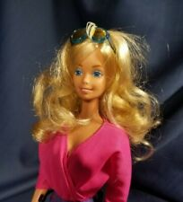 Vintage Mattel 1983 Sun Gold Malibu Barbie Doll & 80's Fashion Lot
