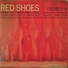 EASDALE: The Red Shoes Ballet/WEBER/DELIBESNM1958LP Golschmann/St. Louis 6-EYE