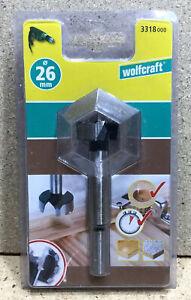Wolfcraft  Forstnerbohrer CV 26 mm / 90 mm Zylinderschaft 3318000