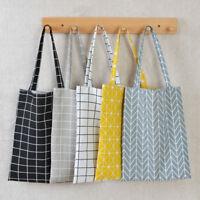 hot Eco Shopping Cotton Linen Tote Handbag Canvas Purse Pouch Shoulder Bag