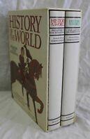 HISTORY OF THE WORLD by Esmond Wright (2 Vols. 1986 Bonanza Books SC/HC/DJ)