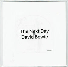 "DAVID BOWIE THE NEXT DAY vinyle blanc WHITE 7"" INCH 2 TRACKS 2013 square-shapped"