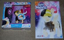 HASBRO MY LITTLE PONY THE MOVIE SINGING SONGBIRD SERENADE & SDCC 2017 POSTER