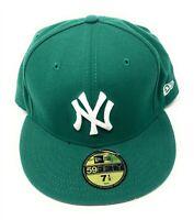 New York Yankees MLB Baseball Hat New Era 59FIFTY Fitted 7 1/2 Best Prez on back