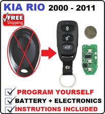 KIA RIO REMOTE 2000 2001 2002 2003 2004 2004 2006 2007 2008 2009 2010 2011 PREGI