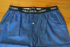Men's Polo Ralph Lauren Sleepwear Blue Pajamas Pants Size: Medium (M) NWT!