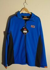 Bear Grylls Craghoppers Mens 2XL Full Zip Jacket Windbreaker Outwerwear Blue