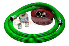 1 12 Epdm Water Suction Hose Honda Kit With75 Red Discharge Hose