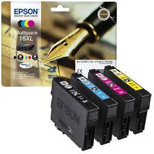 Orig. EPSON Tintenpatronen 16XL T1636XL Multipack 4er Pack Angebot Neu !!!