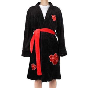 Itachi Uchiha Cosplay Bathrobe Costume Anime Home Sleepwear Pajamas For Man