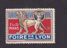 Ancienne vignette étiquette timbre France BN48013 Foire d Lyon