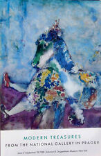 Marc Chagall•Circus Equistrienne 1927•Guggenheim Museum NY•25x39 Poster Rare