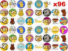 96 x 3cm BBC Children in Need Pudsey Bear Spots Edible Fairy Cup Cake Toppers