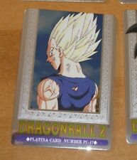 DRAGON BALL Z DBZ HERO COLLECTION PART 3 PLATINA CARD PRISM CARTE PC-17 MINT