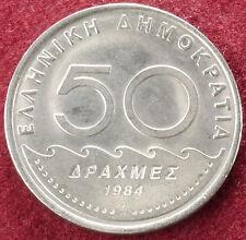 Greece 50 Drachma 1984 (C1610)