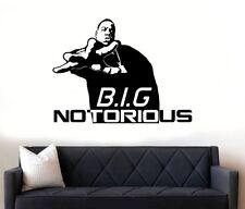Notorious-BIG-Biggie-Smalls-Hip-Hop-Wall-Art-Vinyl Sticker/Decal