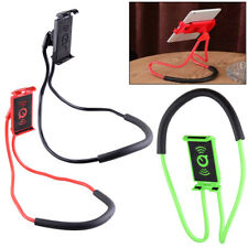 Universal Lazy Neck Hanging Cell Phone Holder Stand Mount Support 360° Li