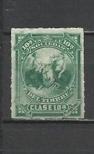 3377-SELLO FISCAL SOCIEDAD DEL TIMBRE 1875 SERIE 10 ª SPAIN REVENUE,VERDE.
