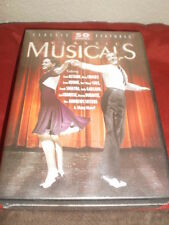 Classic Musicals 50 Movie Pack (DVD, 2011, 12-Disc Set) 2011 New and sealed.