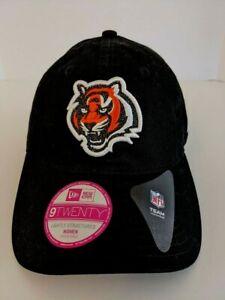 New NFL Cincinnati Bengals New Era 9Twenty Team Glisten Women's Adjustable Hat