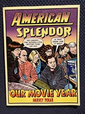 Harvey Pekar Signed American Splendor Our Movie Year 1st/1st Softcover Mint