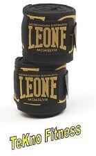 BENDAGGI LEONE FASCE AB705 GUANTONI BENDE 3,5MT BOXE THAI KICK MMA SOTTOGUANTI