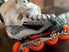 New ListingMission Inhaler Fz-3 Senior Roller Hockey Skates - Size 8.5E