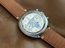Vintage 1970s Titoni Race King Valjoux 7734 Manual Chronograph Racing Dial Watch