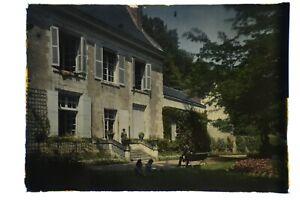 SEIGNEURIE DE BOURRÉ, AUTOCHROME 13 x 18, LUMIÈRE & JOUGLA. ca 1900. #11