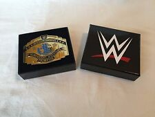 WWE Intercontinental Championship Belt Buckle, Authentic Original, NEW WWF NXT