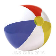 """New Inflatable Blow up Panel Beach Ball 16"""" 40cm Swimming Party Fun For Holiday"""