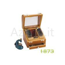 Punzoniera di precisione 120 pz custodia legno punzoni acciaio Pearl Anchor tool