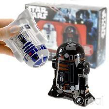 NEW Star Wars r2-d2 & r2-q5 Porta Sale e Pepe per la casa utensile da Bambini Ufficiale
