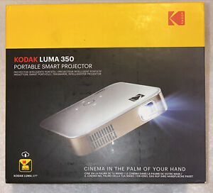 Kodak Luma 350 Portable Smart Wi-Fi Ultra HD Mini Projector w/ iPhone Bonus FREE