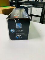 NEW HP 305A CE411A OEM Genuine Cyan Laserjet Toner Print Cartridge Sealed