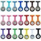 NEW Silicone Nurse Watch Brooch Fob Pocket Tunic Quartz Movement Watch Jewelry