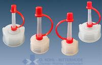 Tropfflasche PE Kunststoff Plastik rund 10 - 2000 ml Laborflasche mit Deckel