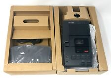 Sony M-2000 Microcassette Transcriber w/ Foot Pedal, AC Adapter & Headset NEW!!