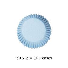 Culpitt 108 x PALE BLUE 50mm Standard Cupcake Cup Cake Muffin Baking Cases
