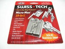 Swiss+Tech ST53100 Stainless Steel Micro-Max 19 In 1 Multi-Tool Plier Driver