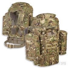 TITAN 100 LITRE BERGEN MTP MULTICAM RUCKSACK BRITISH ARMY WITH SIDE POCKETS