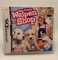 Mein Kleiner Welpen Shop Nintendo DS, NDS, 2DS / 3DS Spiel mit Hülle CiB wie Neu