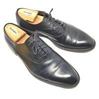 GIORGIO ARMANI Size EU 43.5 (US 10.5) Men Dress Shoes Black Oxfords Shoes