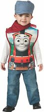 new Childs Boy's Thomas The Tank Engine Engineer Conductor James Costume toddler