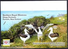 Singapore Stamp Exhibition Imperf Cinderella, Royal Albatross, Water Birds, Limi