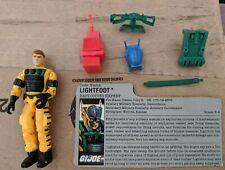 GI Joe Body Part  1988 LightFoot       Left Arm    C8.5 Very Good