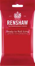Renshaw Regalice 250g Ready Roll Icing Sugarpaste Fondant Cake Decorating Colour