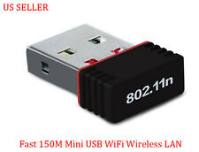 150 Mbps /150M Mini USB WiFi Wireless LAN Network Adapter Card 802.11n/b/g
