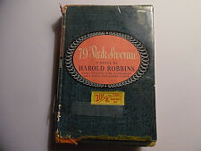 79 Park Avenue, Harold Robbins, First Edition HC/DJ In Mylar