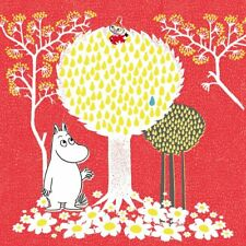 Moomin Square Card - Tree ~ Birthday/all Occasion Card - FREE 1ST CLASS POST